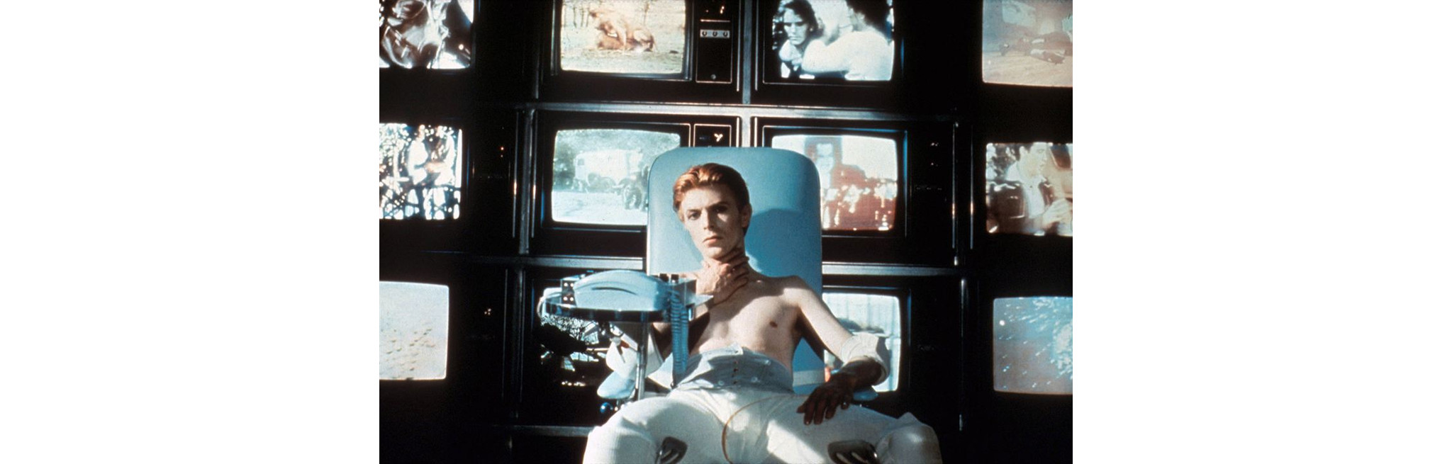 """Movie poster for """"THE MAN WHO FELL TO EARTH (1976)"""""""