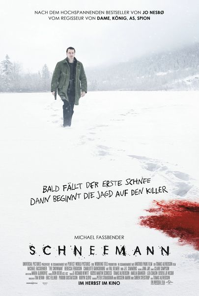 """Filmplakat für """"Schneemann"""""""