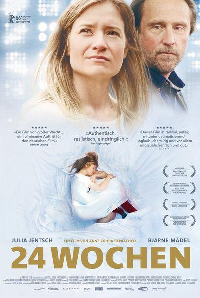 """Filmplakat für """"24 Wochen"""""""