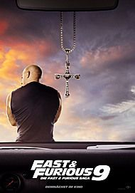 "Movie poster for ""FAST & FURIOUS 9"""