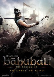 "Filmplakat für ""Bahubali: The Beginning"""