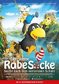 """Filmplakat für """"Der kleine Rabe Socke - Suche nach dem verlorenen Schatz"""""""