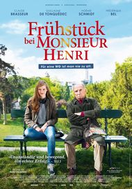 "Filmplakat für ""Frühstück bei Monsieur Henri"""
