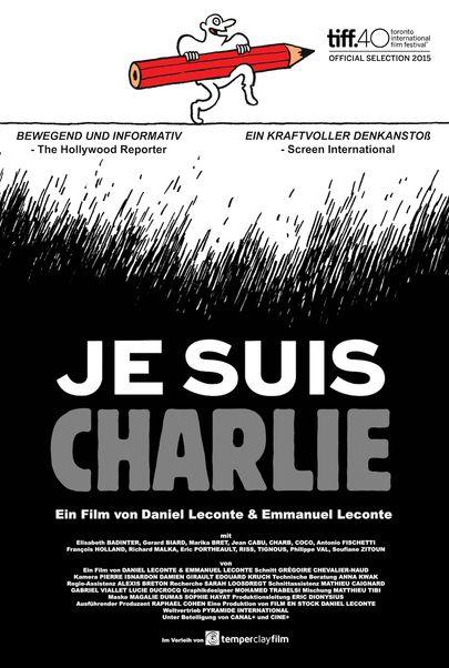 "Filmplakat für ""Je suis Charlie"""