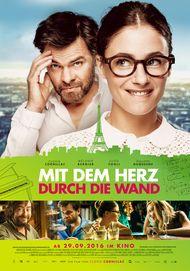 """Filmplakat für """"Mit dem Herz durch die Wand"""""""