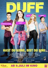 """Filmplakat für """"DUFF - Hast du keine, bist du eine!"""""""