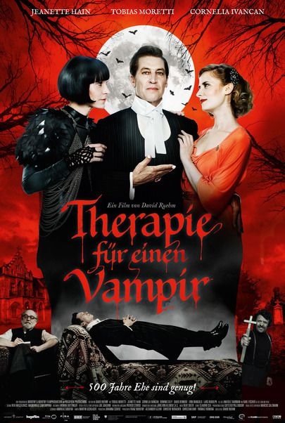 "Movie poster for ""THERAPY FOR A VAMPIRE"""