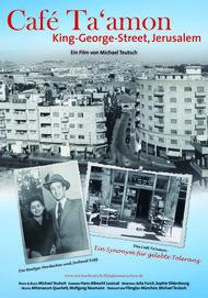 "Movie poster for ""Café Ta'amon - King George Street, Jerusalem"""