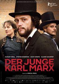 """Filmplakat für """"Der junge Karl Marx"""""""