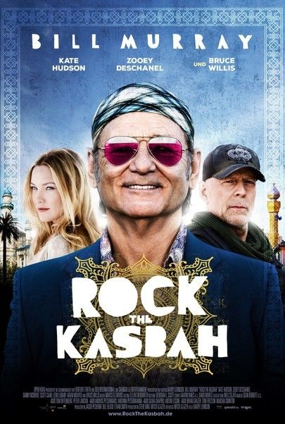 "Filmplakat für ""ROCK THE KASBAH"""