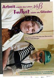 """Movie poster for """"Arbeit macht das Leben süß, Faulheit stärkt die Glieder"""""""