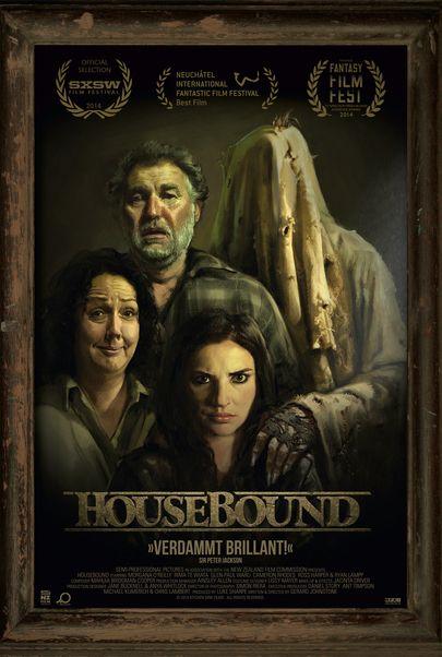 """Filmplakat für """"Housebound"""""""