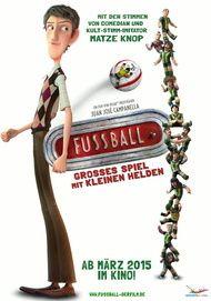 """Filmplakat für """"Fußball - Großes Spiel mit kleinen Helden"""""""