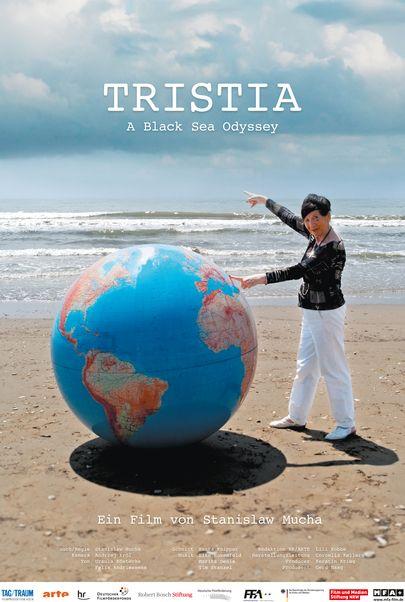 """Movie poster for """"Tristia - Eine Schwarzmeer-Odyssee"""""""