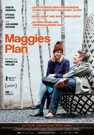 """Filmplakat für """"Maggies Plan"""""""
