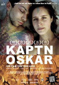 """Movie poster for """"Captain Oskar"""""""