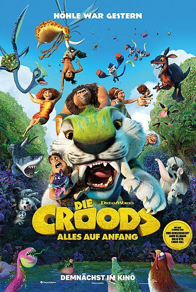 """Filmplakat für """"DIE CROODS - ALLES AUF ANFANG"""""""