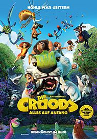 "Movie poster for ""THE CROODS - Alles auf Anfang"""