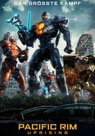 """Movie poster for """"PACIFIC RIM: UPRISING"""""""