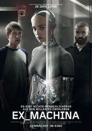 """Filmplakat für """"EX MACHINA"""""""
