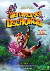 """Filmplakat für """"Ab durch den Dschungel"""""""