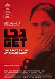 """Filmplakat für """"Get - Der Prozess der Viviane Amsalem"""""""