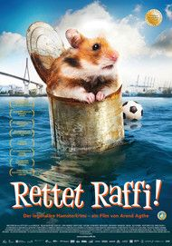"Movie poster for ""Rettet Raffi!"""