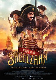 """Filmplakat für """"Käpt'n Säbelzahn und der Schatz von Lama Rama"""""""
