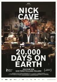 "Filmplakat für ""20 000 DAYS ON EARTH"""