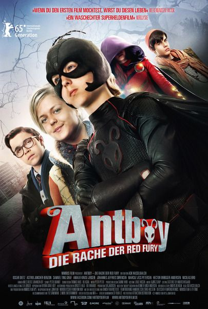 """Movie poster for """"Antboy: Revenge of the red fury"""""""