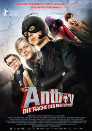 "Movie poster for ""Antboy: Revenge of the red fury"""