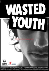 """Movie poster for """"Wasted Youth"""""""