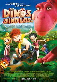 """Filmplakat für """"Die Dinos sind los"""""""