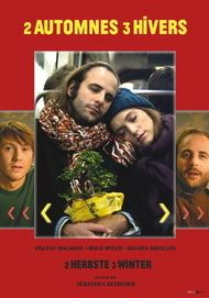 """Movie poster for """"2 automnes 3 hivers - 2 Herbste 3 Winter"""""""