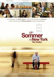 "Filmplakat für ""Ein Sommer in New York - The Visitor"""