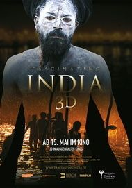"""Movie poster for """"Fascinating India 3D"""""""