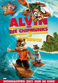 """Filmplakat für """"Alvin und die Chipmunks 3: Chipbruch"""""""