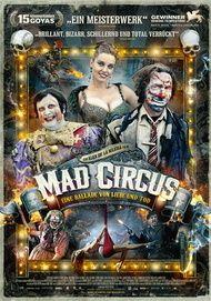 """Movie poster for """"Mad Circus - Eine Ballade von Liebe und Tod"""""""
