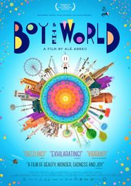 """Movie poster for """"BOY AND THE WORLD"""""""