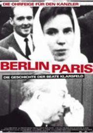 """Filmplakat für """"Berlin-Paris: Die Geschichte der Beate Klarsfeld"""""""