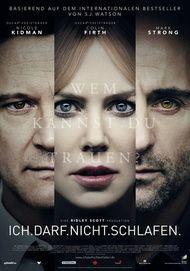 """Filmplakat für """"Ich darf nicht schlafen"""""""