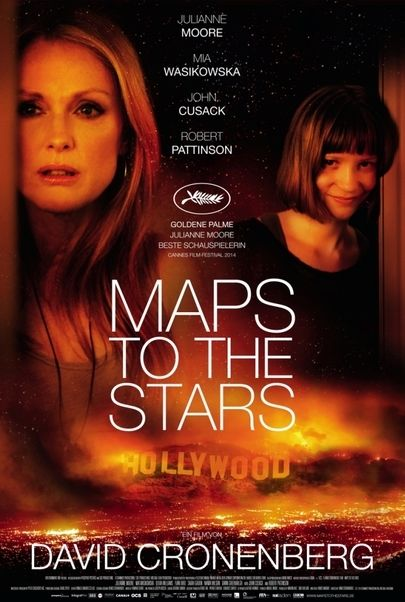 "Movie poster for ""MAPS TO THE STARS"""