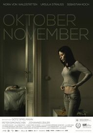 "Movie poster for ""Oktober November"""