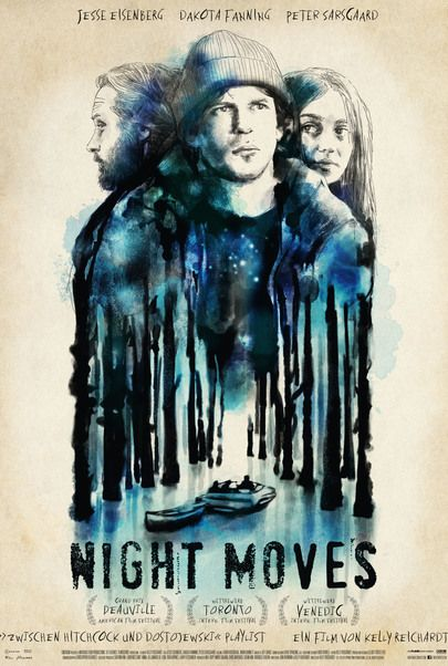 """Movie poster for """"Night Moves"""""""