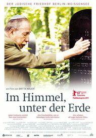 """Filmplakat für """"Im Himmel, unter der Erde - Der jüdische Friedhof Weißensee"""""""