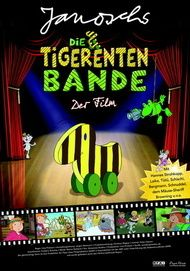 "Movie poster for ""Die Tigerentenbande - Der Film"""