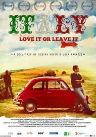 """Movie poster for """"Italy - Love It, or Leave It"""""""