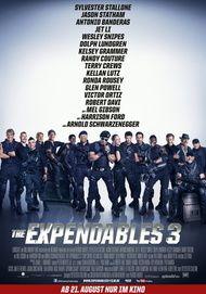 "Filmplakat für ""THE EXPENDABLES 3"""