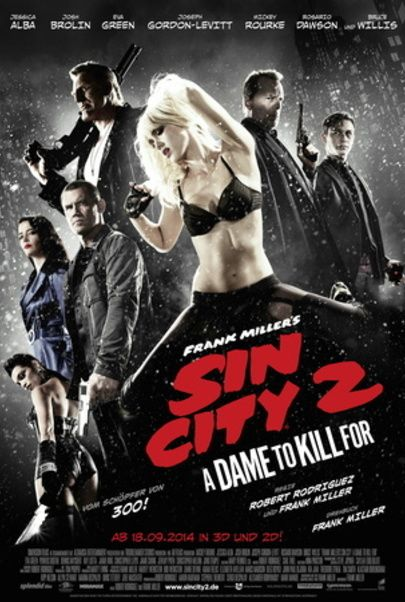 """Filmplakat für """"SIN CITY : A DAME TO KILL FOR"""""""