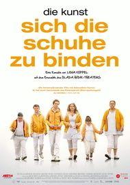 """Filmplakat für """"Die Kunst, sich die Schuhe zu binden"""""""